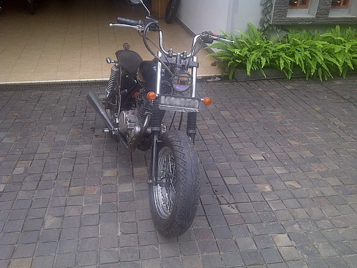 1980 Kawasaki Binter Merzy KZ200 Modif Jap's Style - For Sale title=