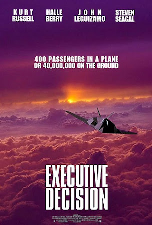 Poster Of Executive Decision 1996 In Hindi Bluray 720P Free Download