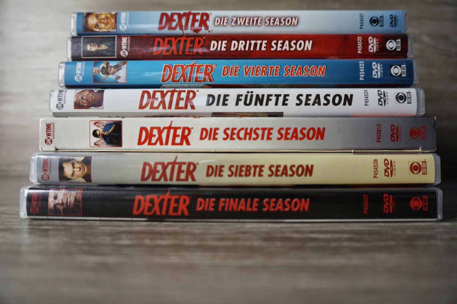 Serie Dexter - Season 1-8 Blogparade