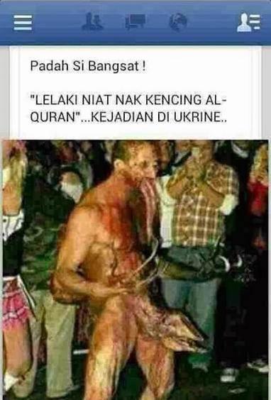 MESTI TENGOK Akibat Niat Nak Kencing Al Quran