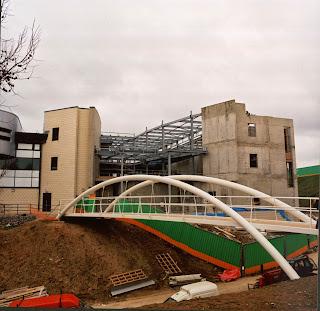 Borthwick Building half-built