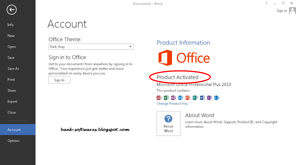Microsoft Office 2013 Full Crack Activated ~ Intel Atom Inside