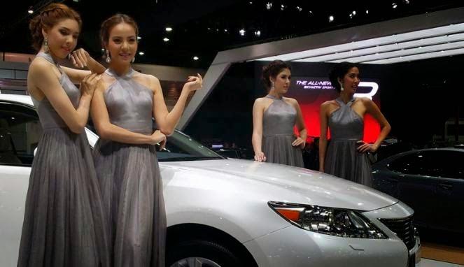Koleksi Foto SPG Mobil Cantik Seksi Thailand di Bangkok Motor Show 2014