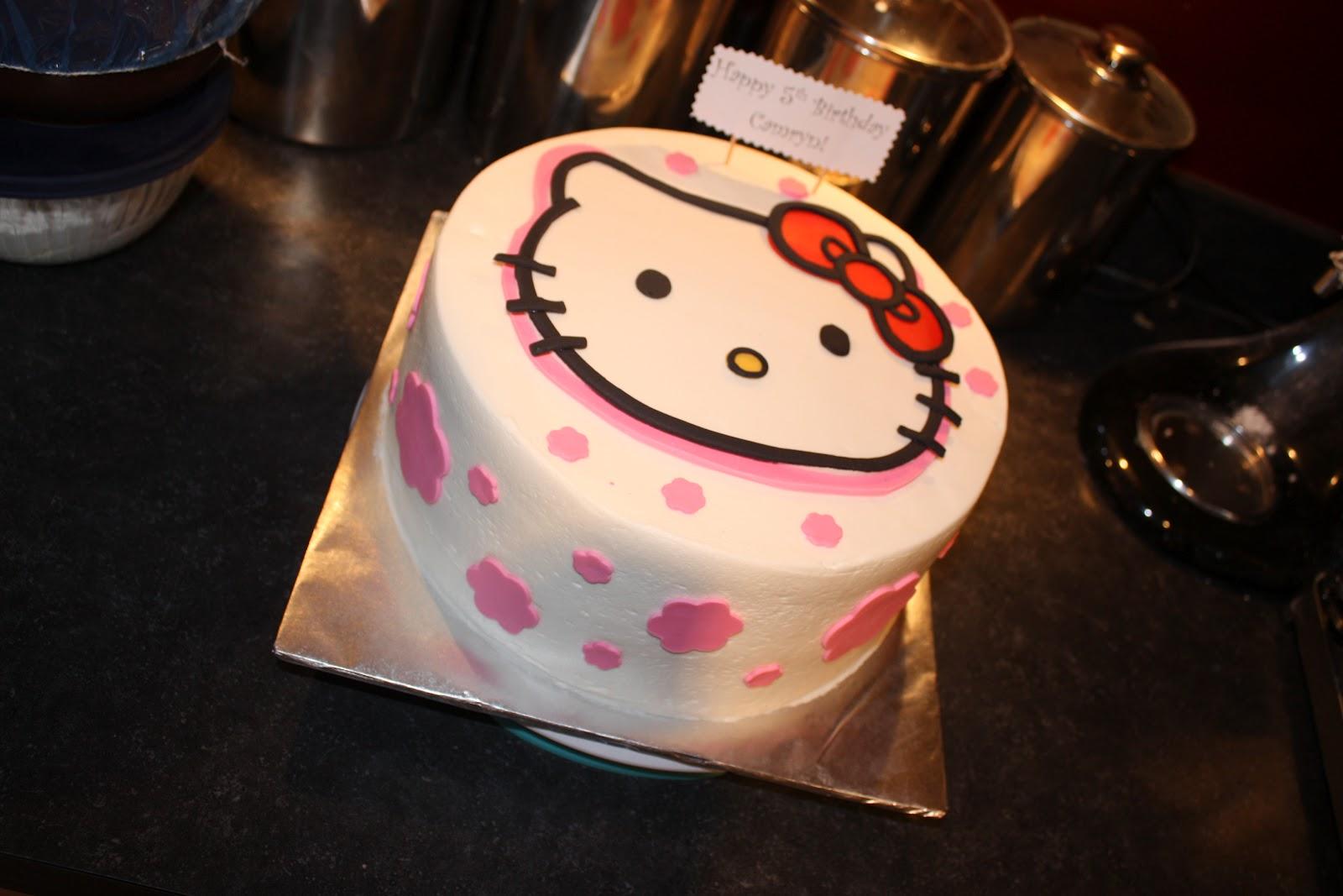 My Ava Cakes: Happy Birthday Camryn! - Hello Kitty