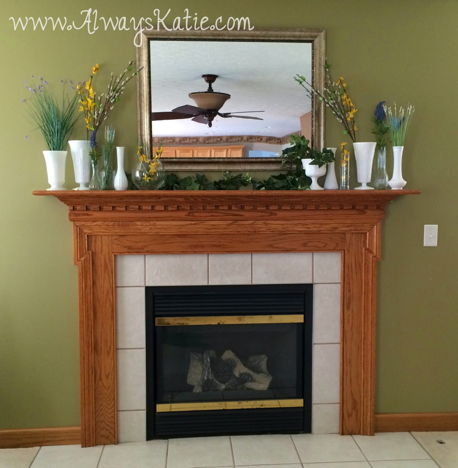 Mantle Decor Always Katie Home Sweet Home Mantle Decor