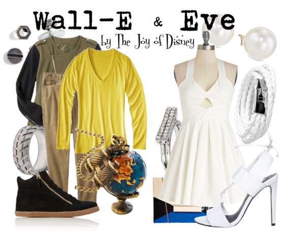 Wall-E, Wall-E and Eve, Disney blog, Disney Fashion, Disney Couples