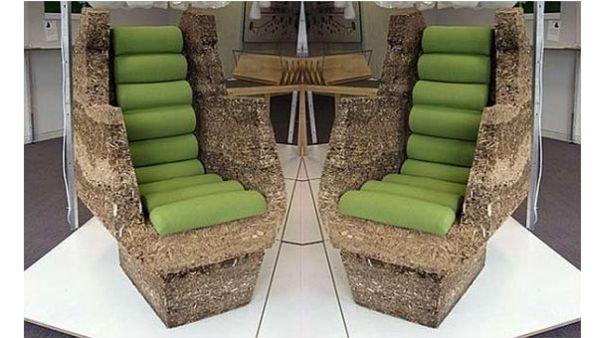 Sillas y sillones de materiales reciclados quiero m s dise o - Sillones originales ...