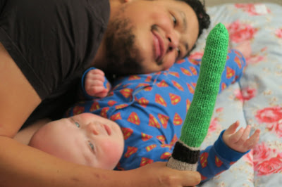 Me, Being Mummy: Week 28 – The Story of Monster Baby! And the Hulk Penis