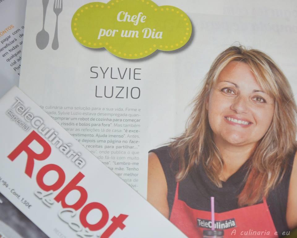 """Teleculinária """"Robot de cozinha"""" Novembro 2015"""