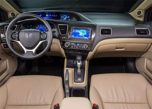 Nội thất Honda Civic 2013
