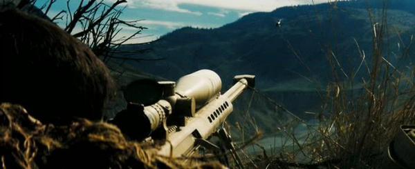 Фильм Стрелок. В кадре М82АЗ, она же - М107, а еще и SASR