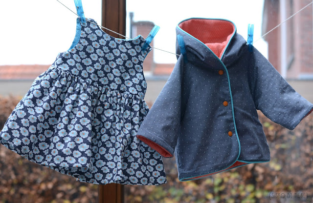 Grace dress and baby jacket