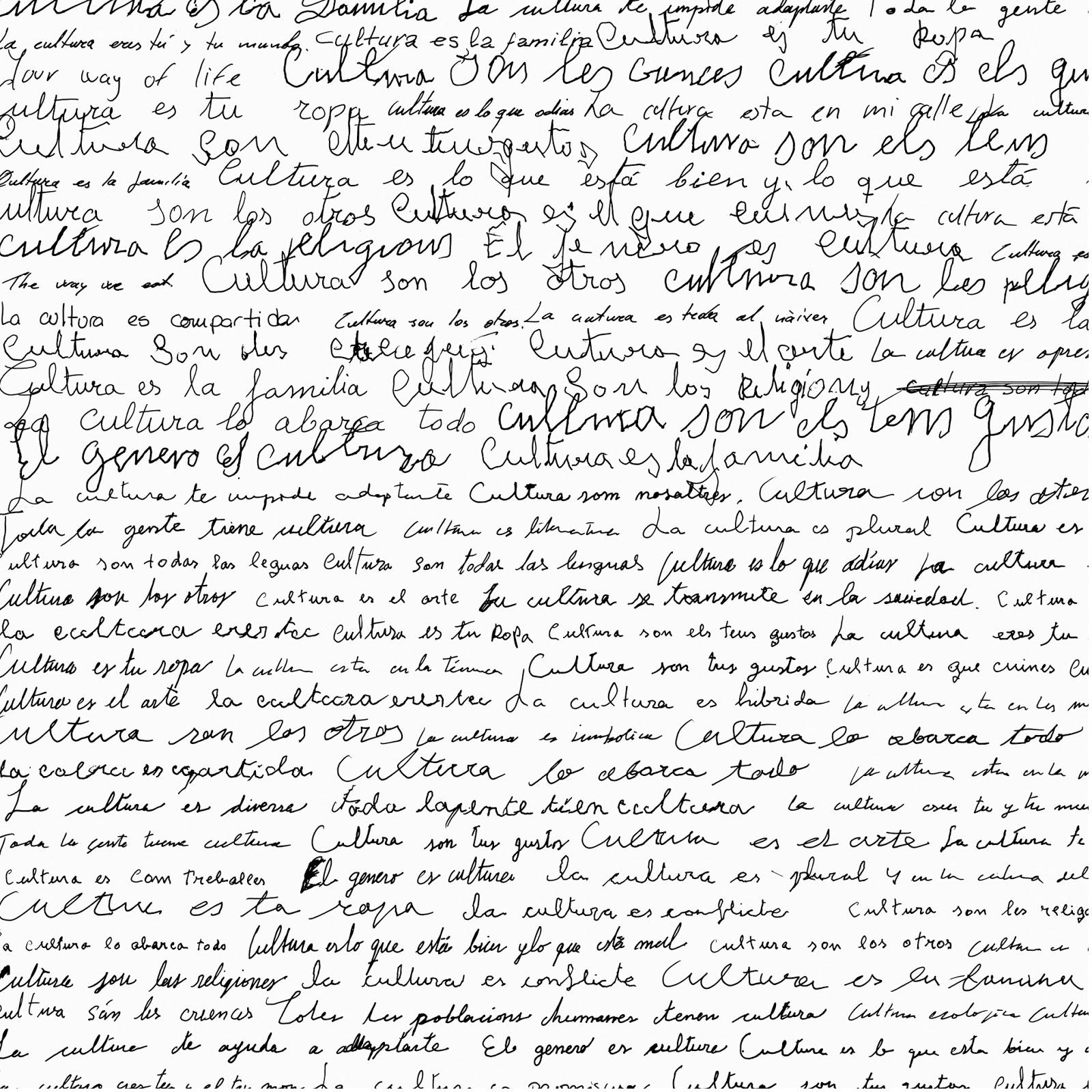 texto manuscrito