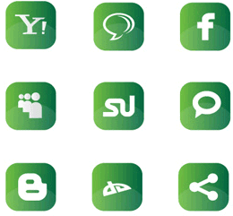 Mashable icons for websites