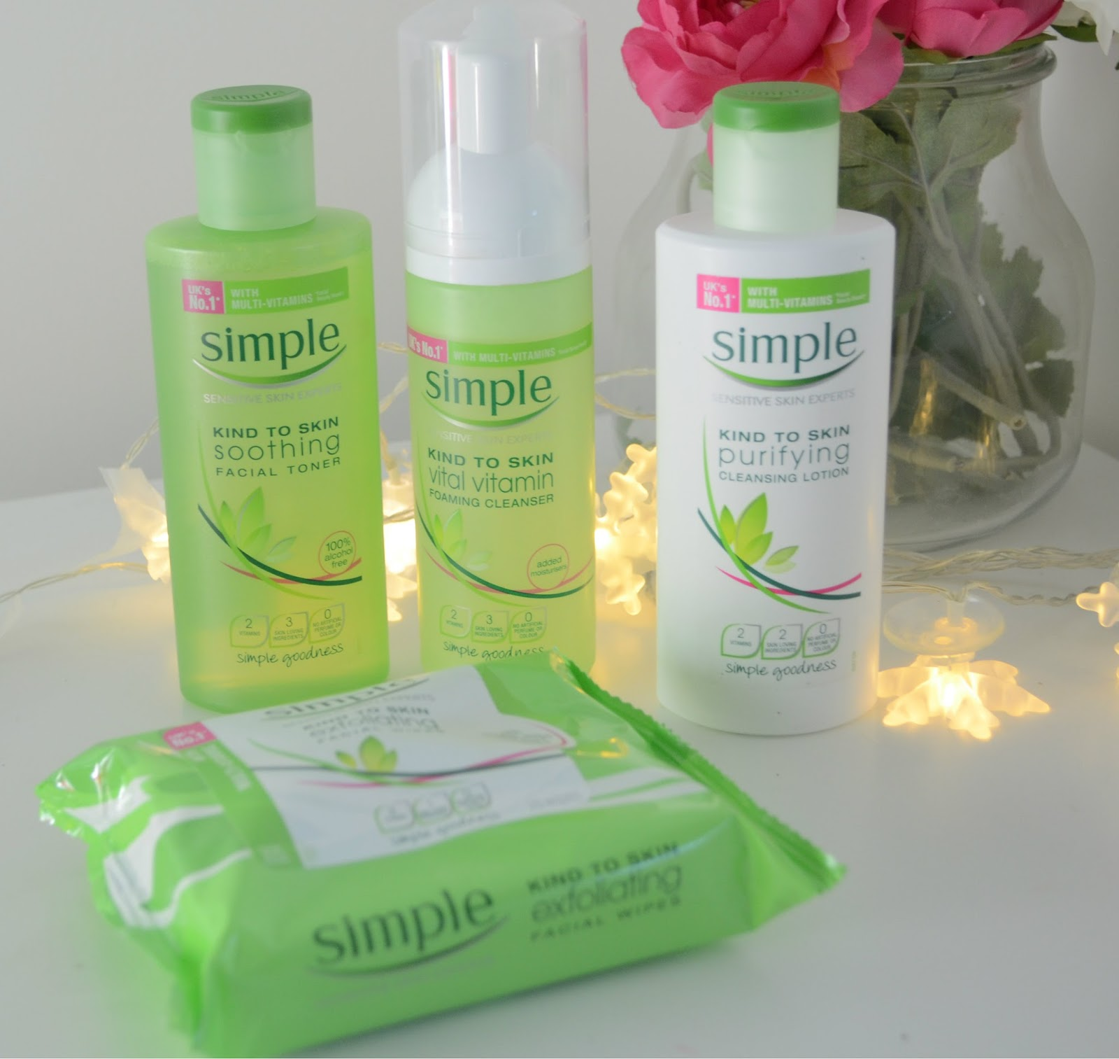 Simple Products simple skincare simple sense dizzybrunette