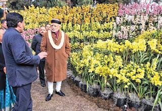 Narendra Modi in Sikkim
