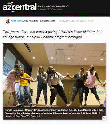 snapshot of azcentral web page featuring story in question.