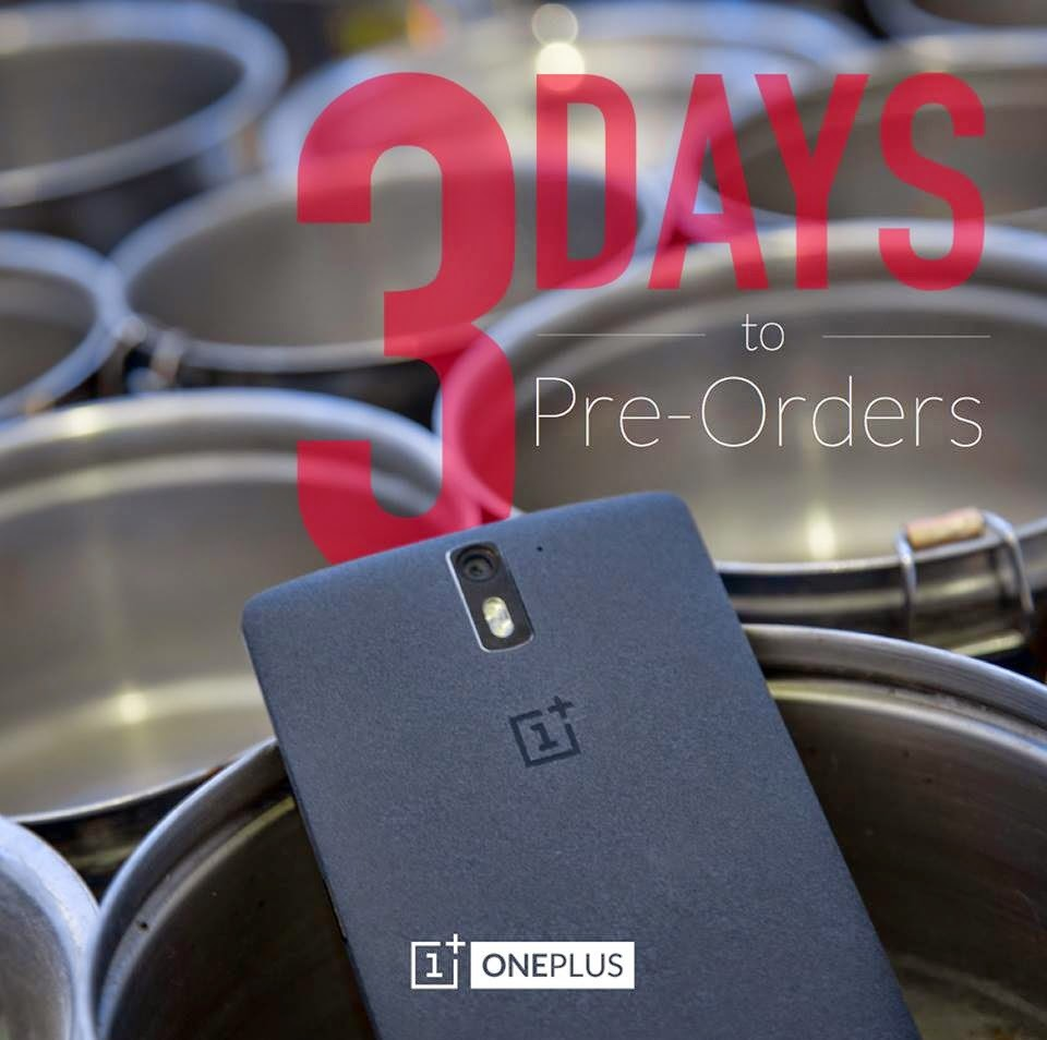 oneplus one pre order system opens on 27th of october