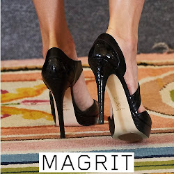 MAGRIT Sandals and CAROLINA HERRERA Dress -  Queen Letiza Style