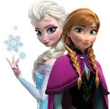 Frozen Elsa and Anna in Real Life
