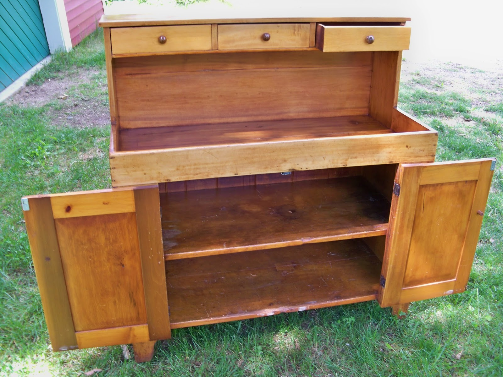 amazing Antique Dry Sink For Sale Part - 3: refinished antique pine drysink, new england