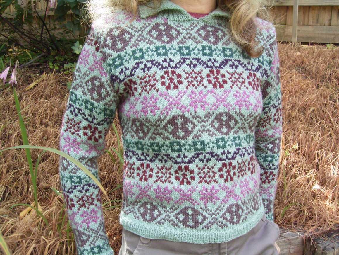 Fair Isle Knitting Pattern : Wakeful knits august