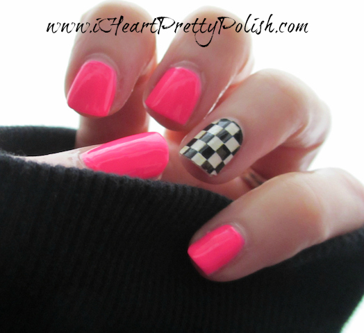 Essie Pink Parka Sally Hansen Nail Polish Strip Check Please