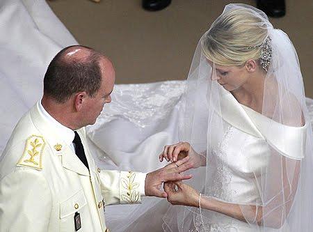 Сватбата в Монако - брачните пръстени