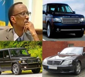 Kagame Lavish Living style
