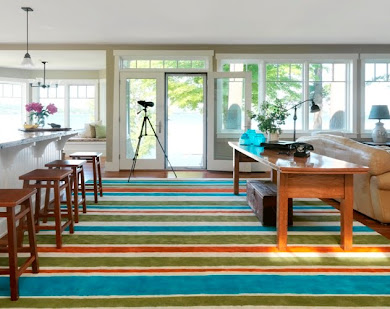 DIY NETWORK Painted Area Rug