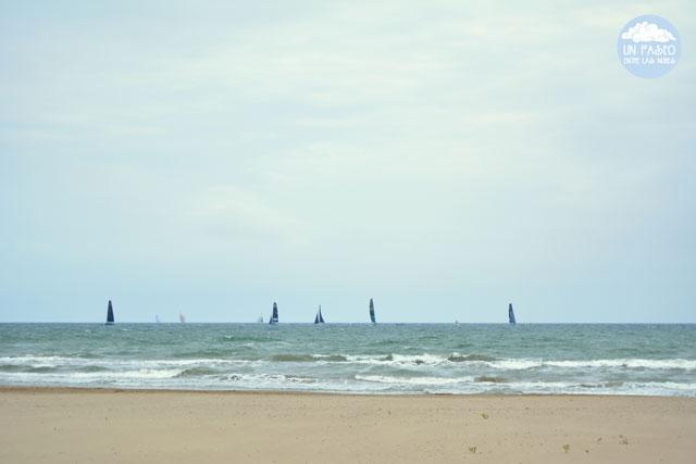 Playa La Patacona, Alboraya - Valencia Sailing Week 52 Superseries