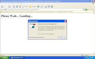 Descarga del Malware