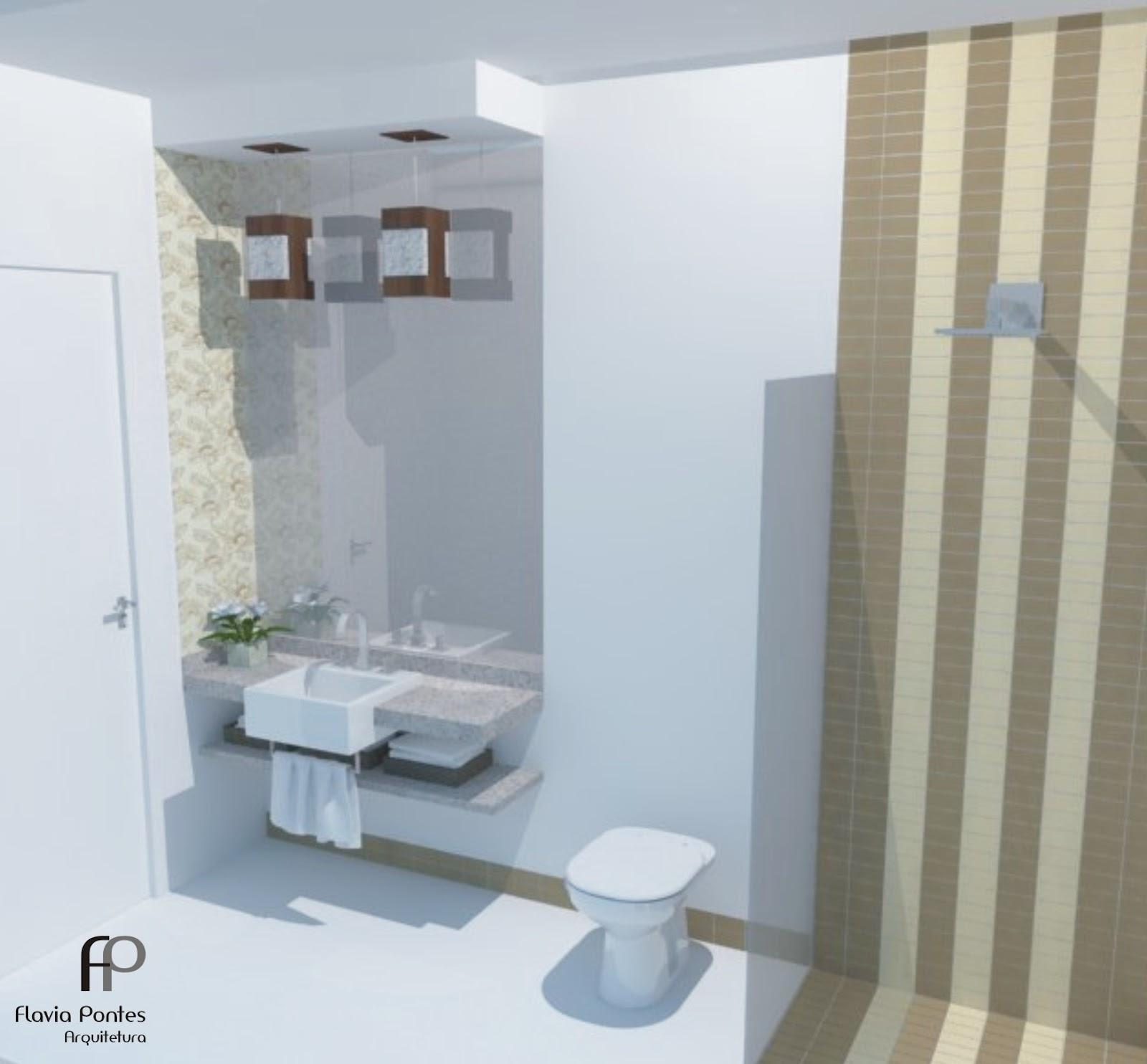 Como o espaço para a bancada é estreito foi escolhida uma cuba de  #5C493F 1600x1484 Bancada Banheiro Vermelha