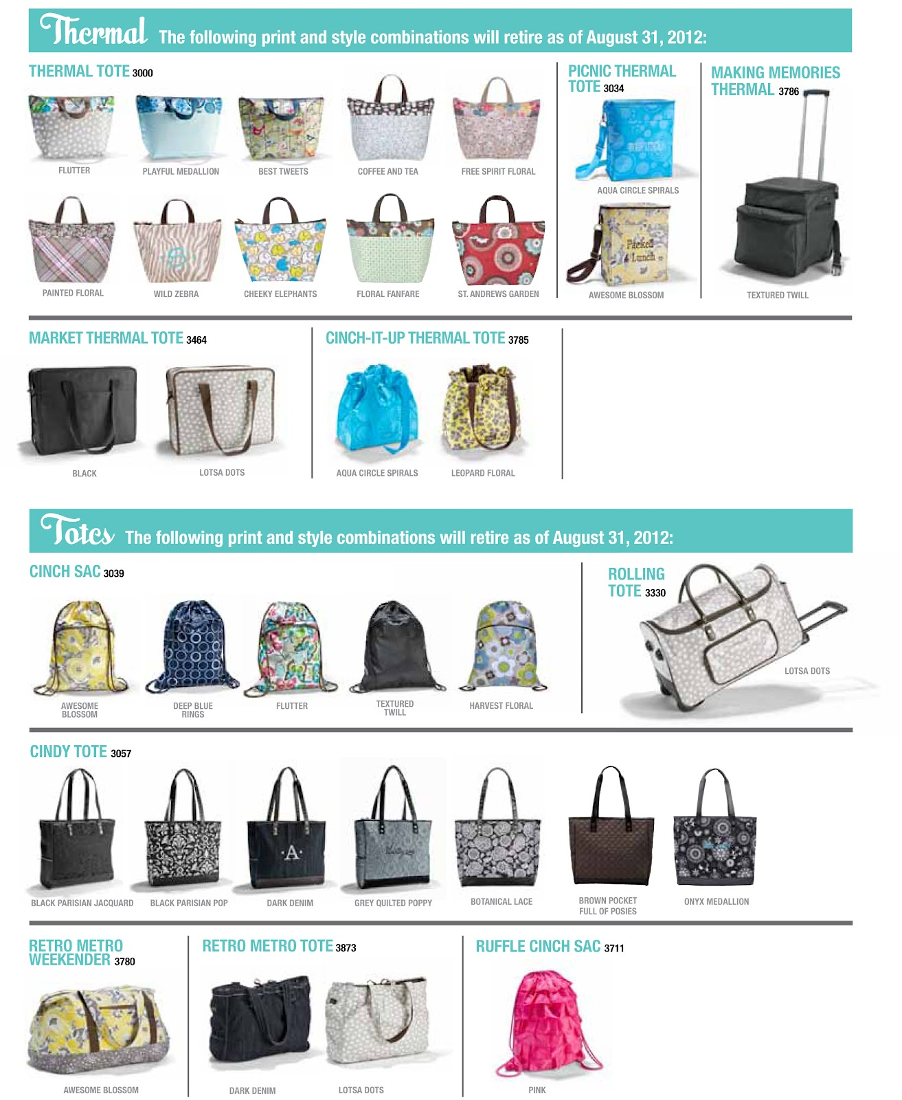 Thirty One Bags 2013 July Specials | Rachael Edwards