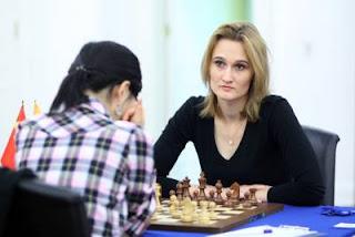 Echecs à Kazan: la grand-maître lituanienne Viktorija Cmilyte (2508) - Photo © Fide