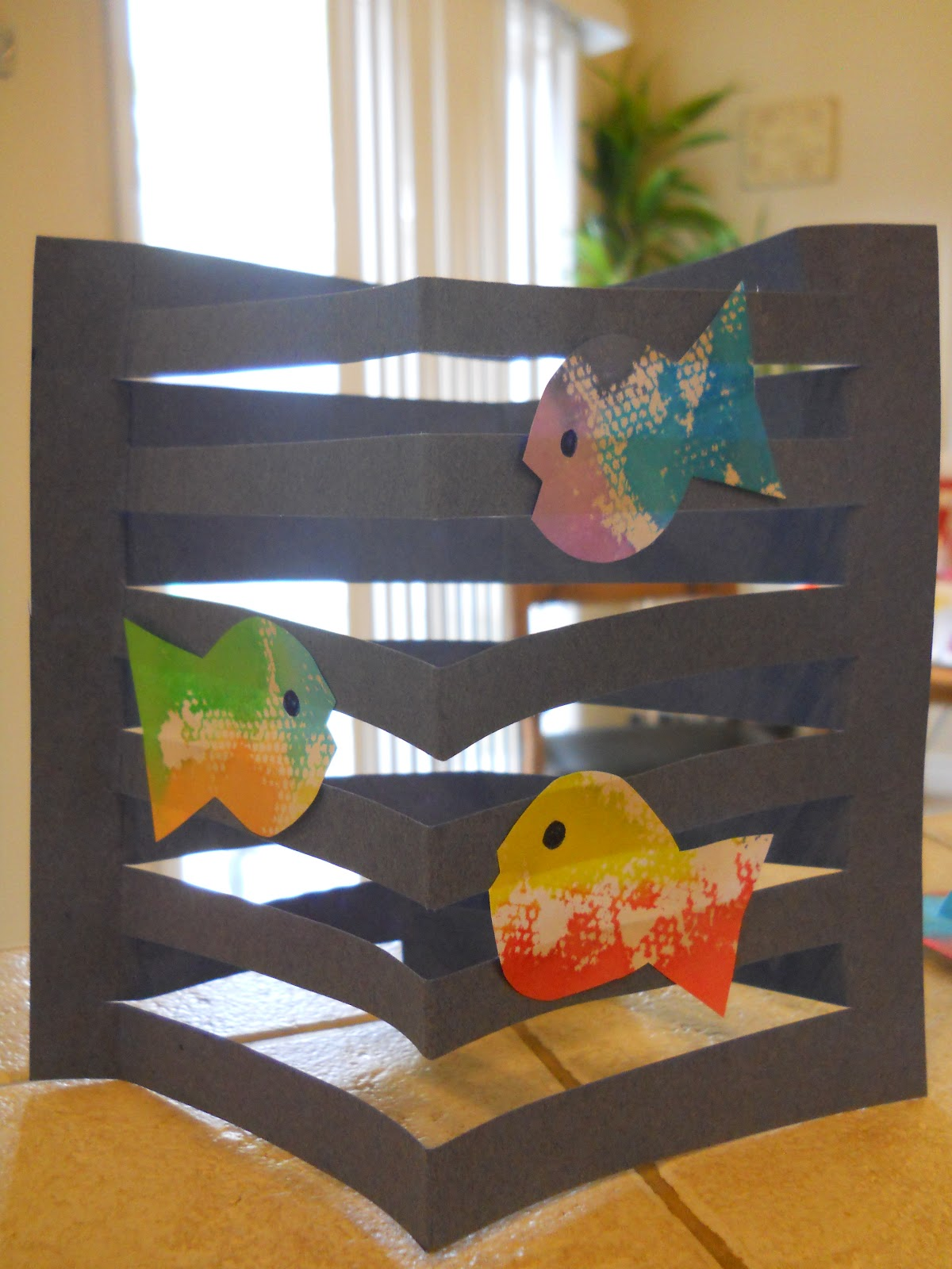 3d art projects for preschoolers mrs t s grade class 3d fish 576