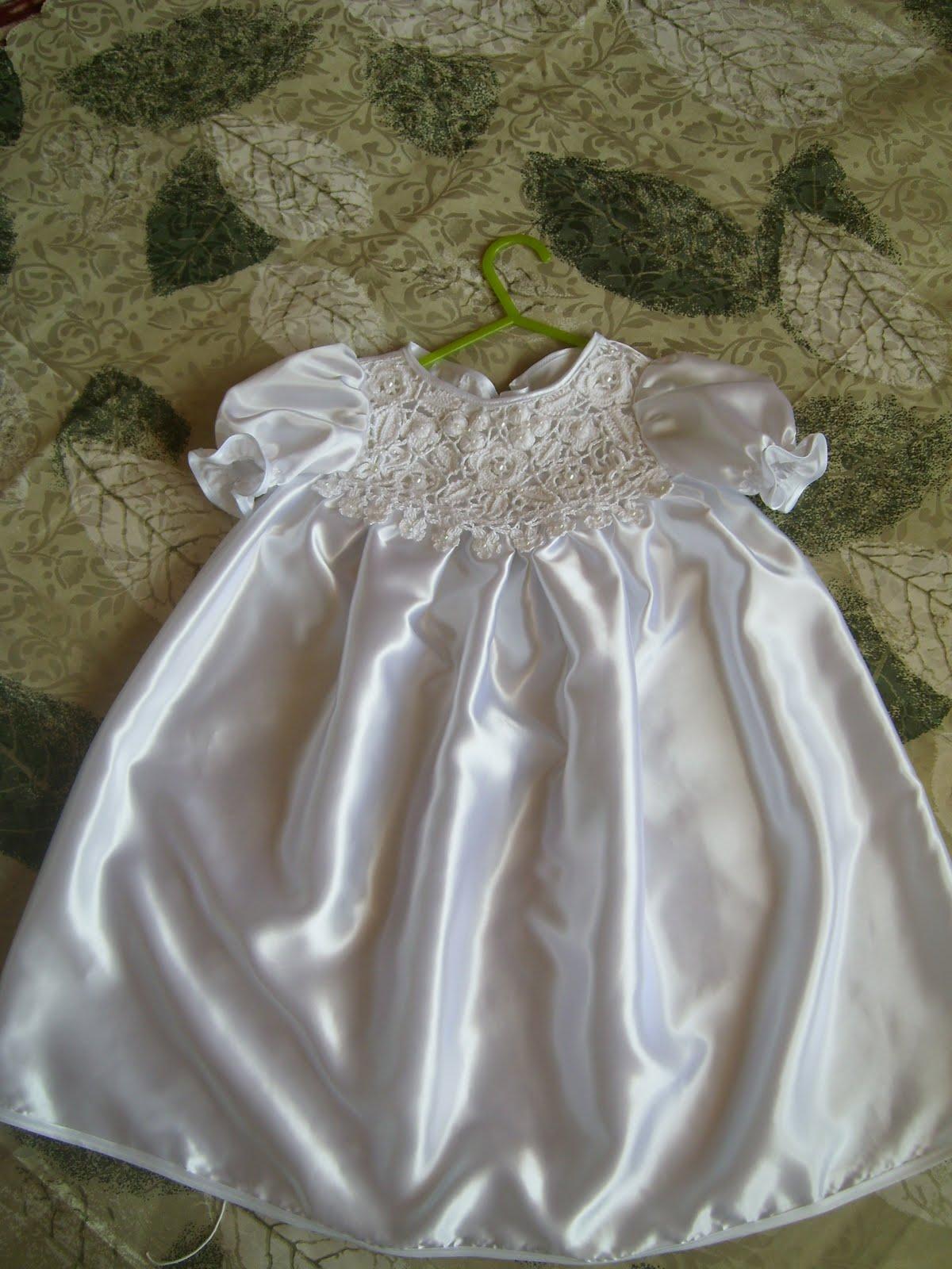 Крестильное платье для девочки 28