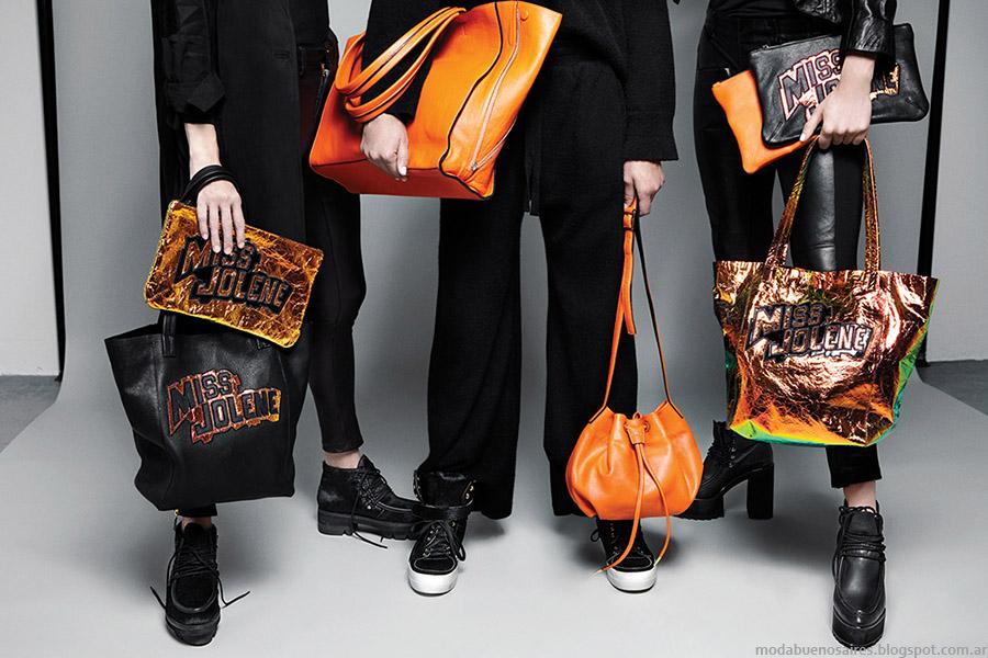 Bolsos, carteras, zapatos, botas y zapatillas María Cher otoño invierno 2015. Moda Accesorios otoño invierno 2015.