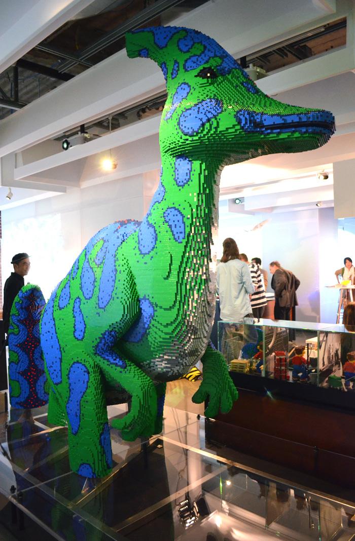 autodesk lego dinosaur