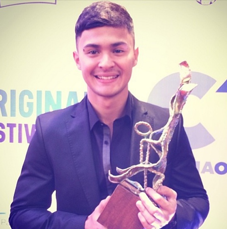 Matteo Guidicelli Slams Haters with Acting Award
