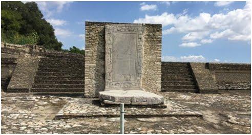 Parte de la zona arqueológica de Cholula