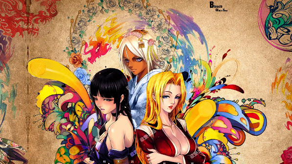 Anime Bleach Girls 4n