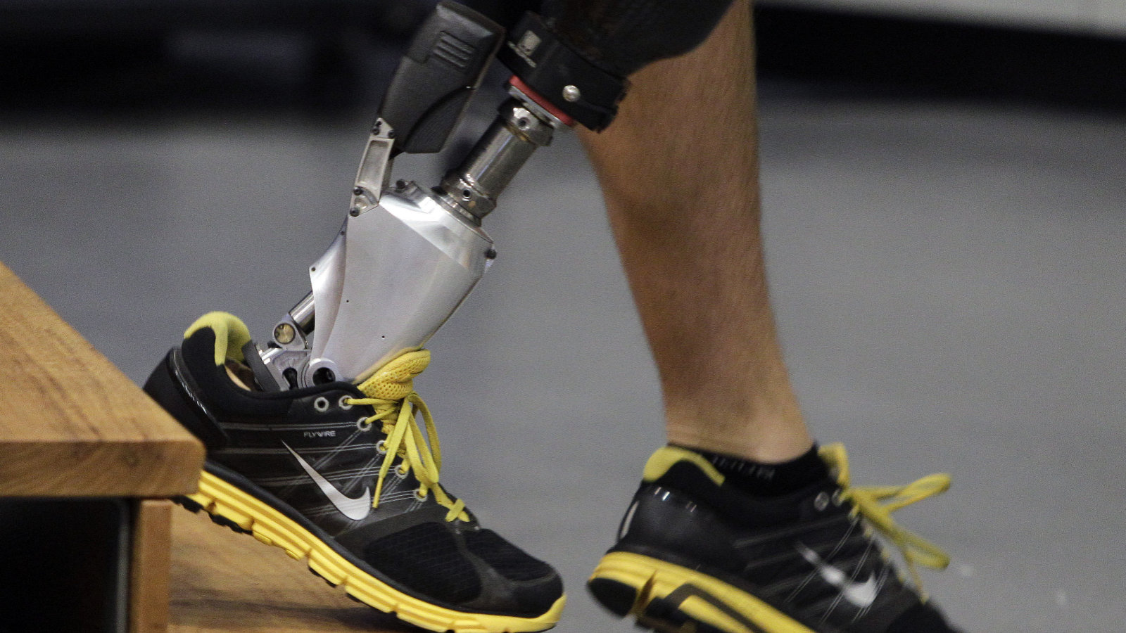 ankle prothesis Check out the revolutionary ankle prosthetic designed by hugh herr of mit and biom some say the new ankle prosthetic is the most realistic prosthetic ever.