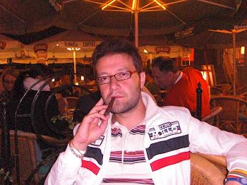 In un pub nella piazza centrale di Cracovia (2011)