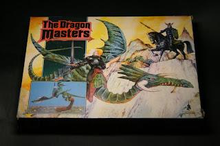 Portada de la caja del Dragon Masters