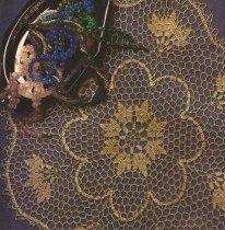Tapete Redondo a Crochet o Ganchillo