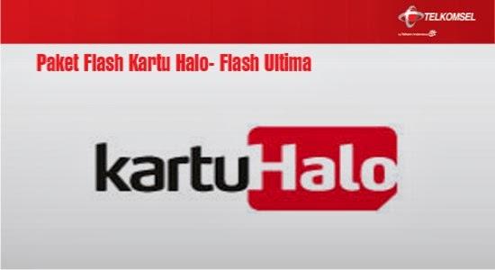 Paket Internet Telkomsel Flash Kartu Halo