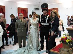 Presentato il vestito di gala della Regina Margherita
