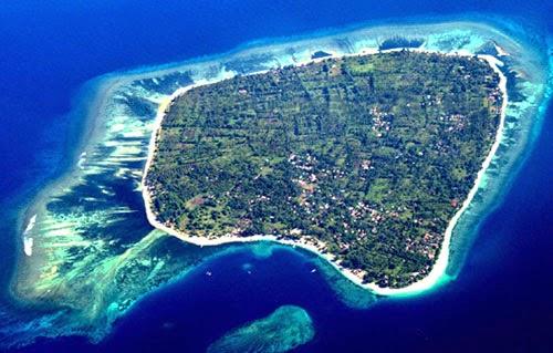 Gili Air island - West Lombok Indonesia