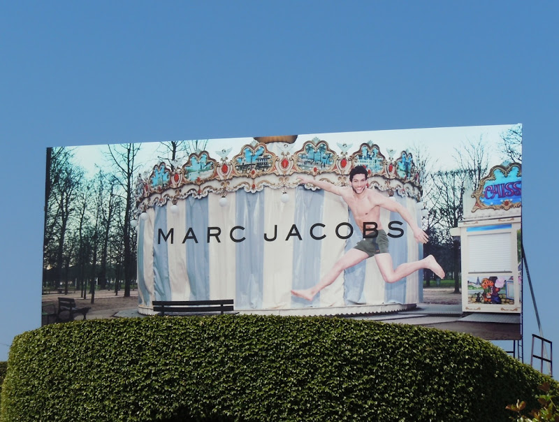 Marc Jacobs swimwear 2011 billboard